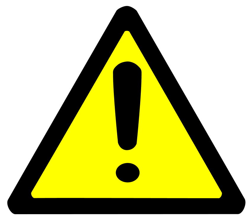Clip Art Warning Clipart warning clipart best free images