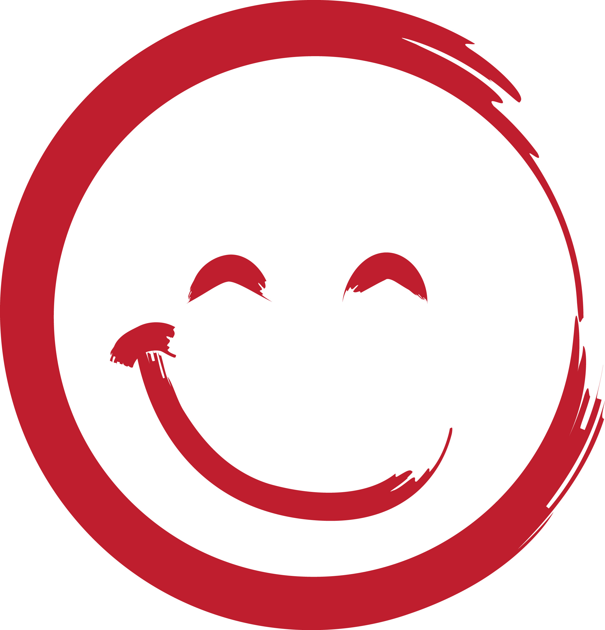 Red Smiley Face Clipart