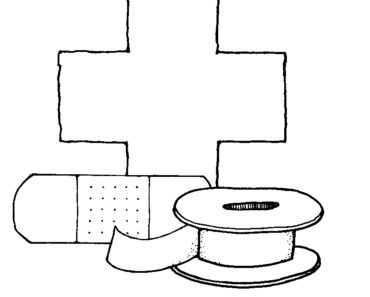band aid coloring page best coloring page for kids - Aid Coloring Pages Kids