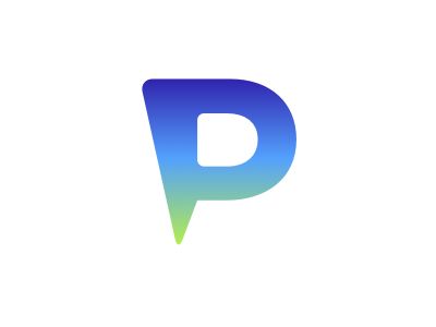 P Logo by Mark Radanovich - Dribbble