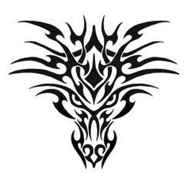 1000 ides sur le thme tatouages de dragon tribal sur pinterest