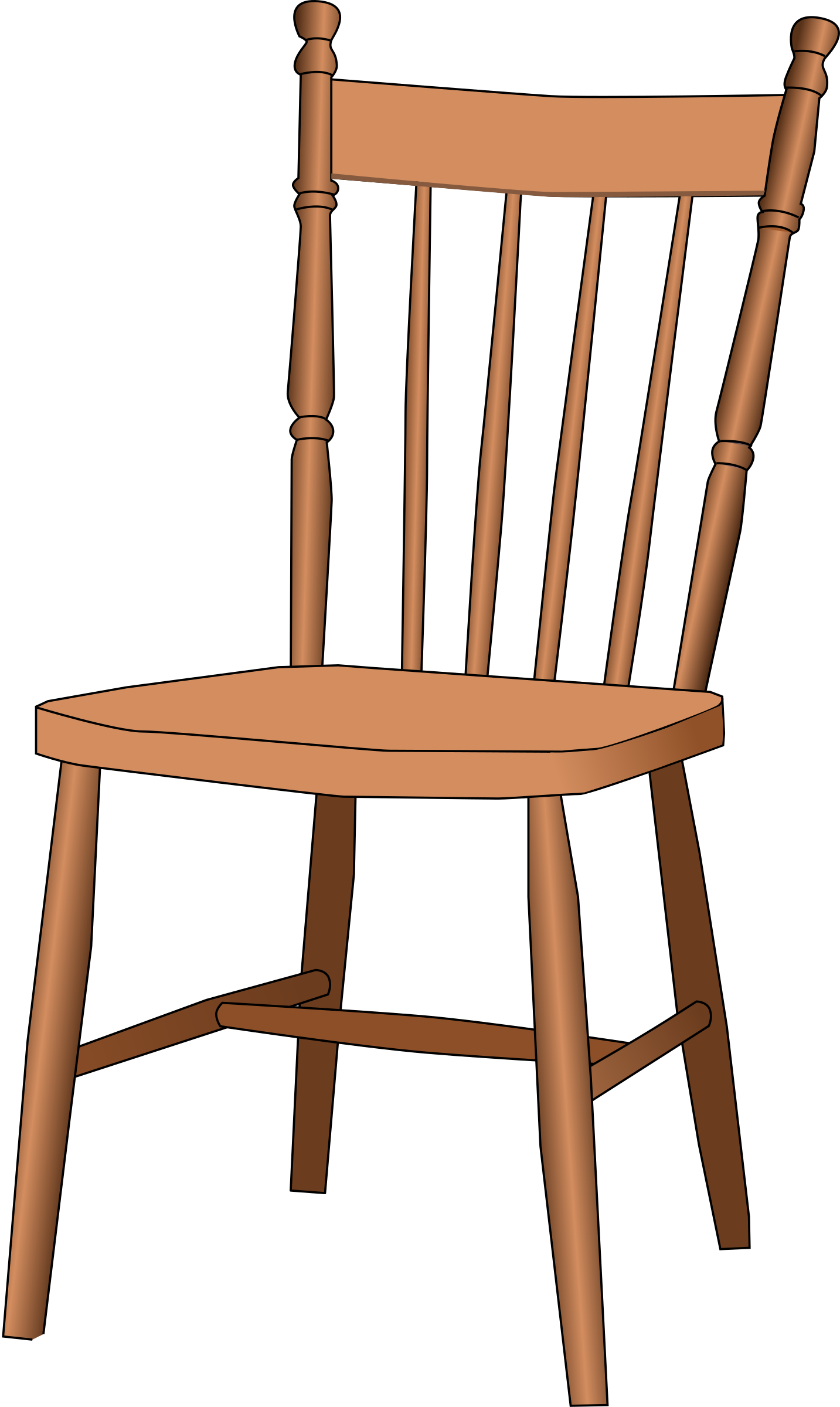 Chair clip art clipart best for Artistic chairs