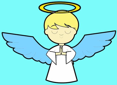 cartoon angel clipart - photo #13