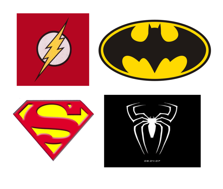Superhero Logos To Print - ClipArt Best