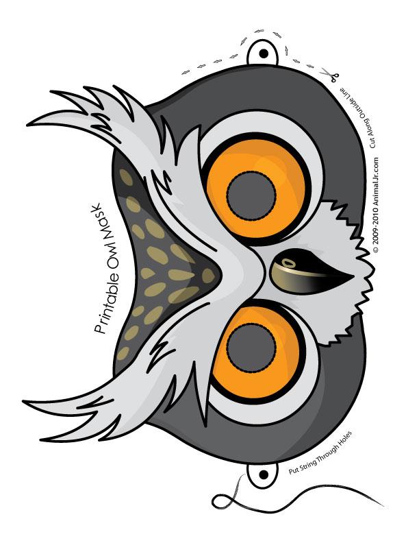 Маска птицы 97