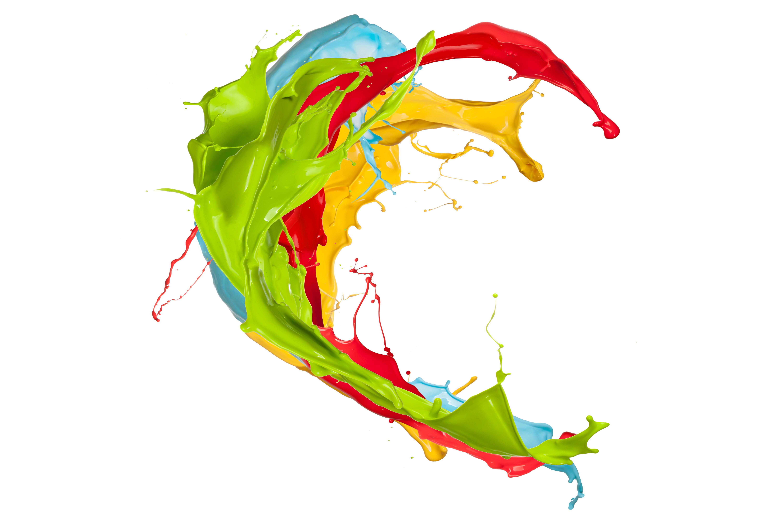 Paint Colours 2017 Colorful Paint Splash Clipart Best