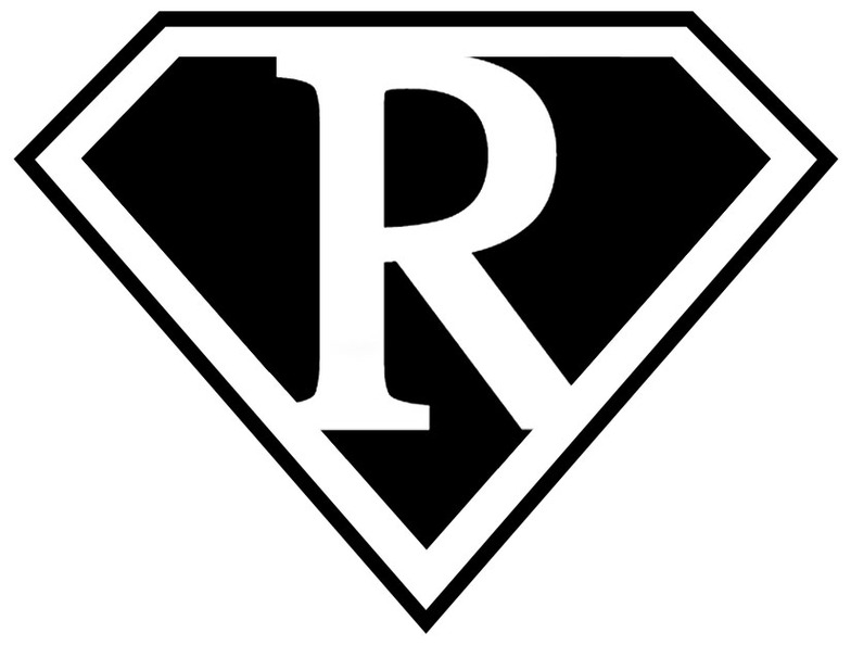 Superman Logo With Letter R Tattoo Clipart - Free to use Clip Art ...