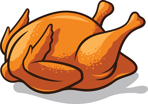 cooked chicken clipart clipart best