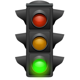 Go, Green, Green light, Light, Traffic icon