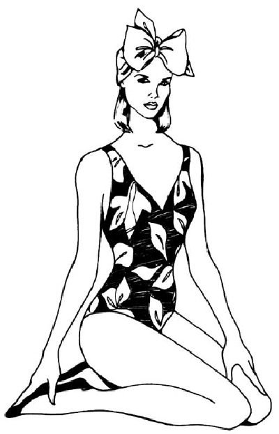 Line Drawing Woman : Line drawing woman clipart best