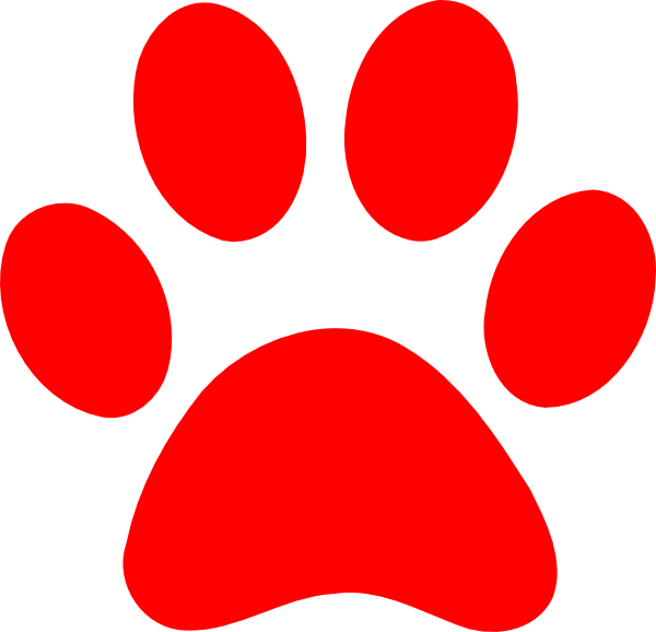 Printable Paw Print Stencil - ClipArt Best