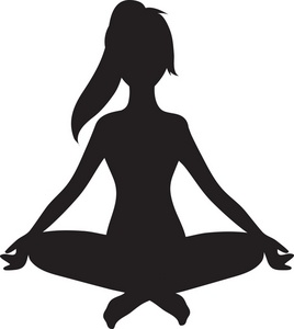 14 yoga silhouette free cliparts that you can download to you computer
