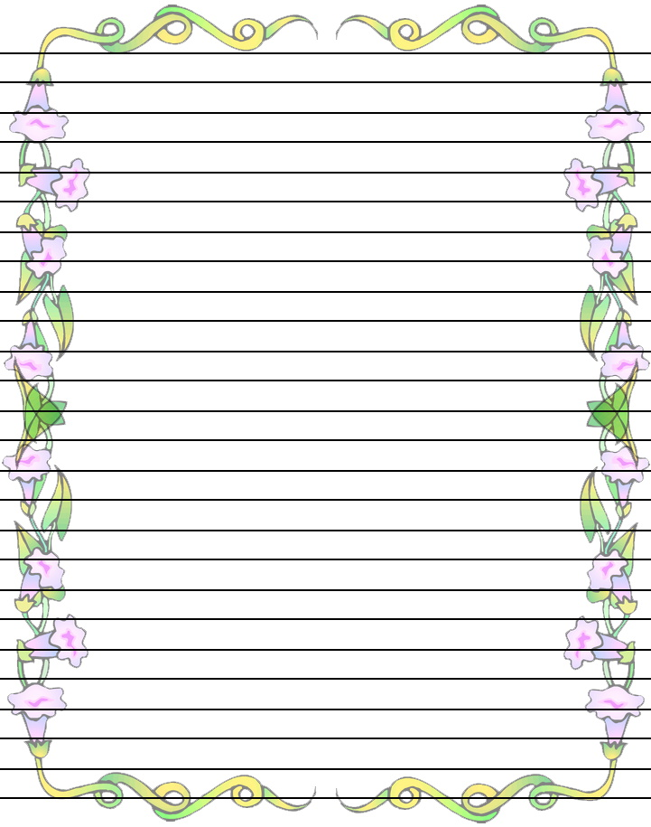 free printable writing paper with borders Angel writing paper handwriting template free christmas letter downloads  free  printable stationary ideal co letter border templates christmas paper writing lined .