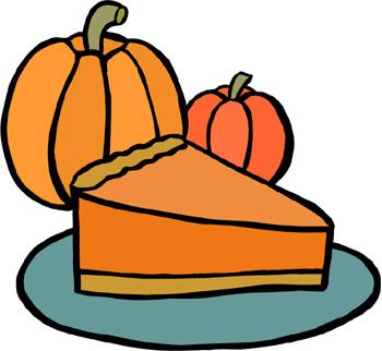 Whole Pumpkin Pie Clipart