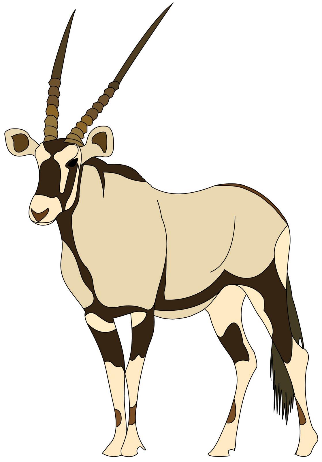 Cartoon Antelope Clipart 5 Cartoon Antelope