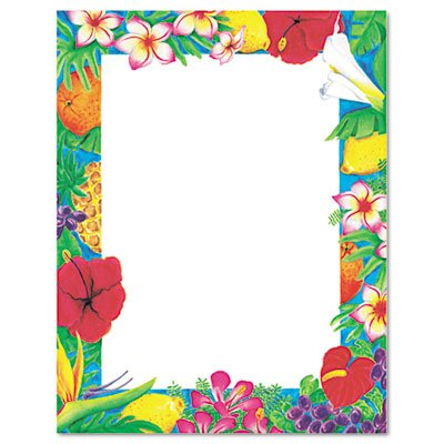 Free Luau Borders - ClipArt Best