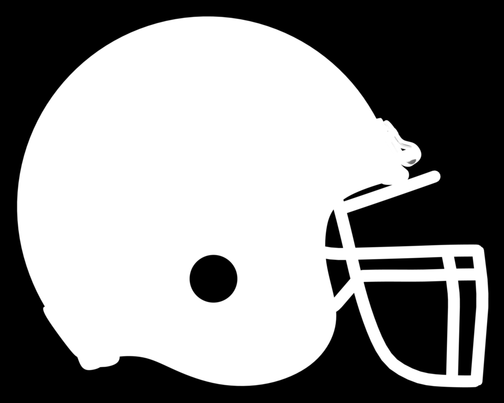 Football Outline Template - ClipArt Best
