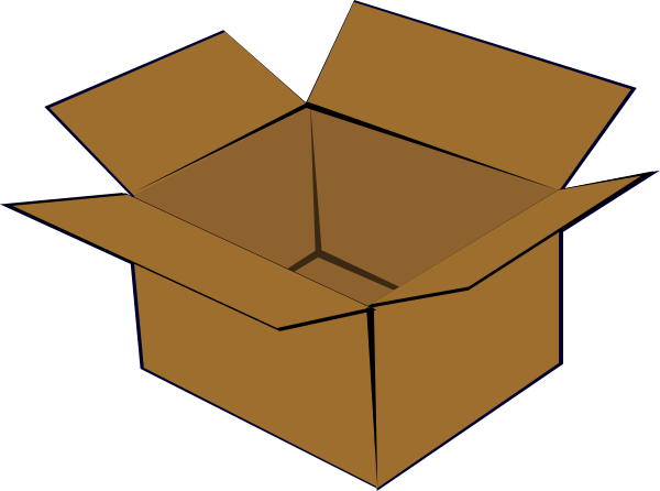 Empty Box Clipart - ClipArt Best