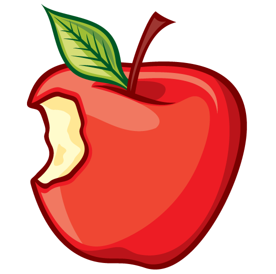 cartoon apple clip art - photo #34