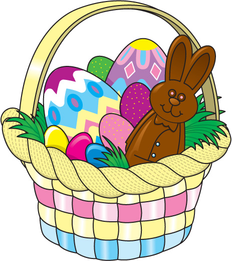clip art for easter baskets - photo #13