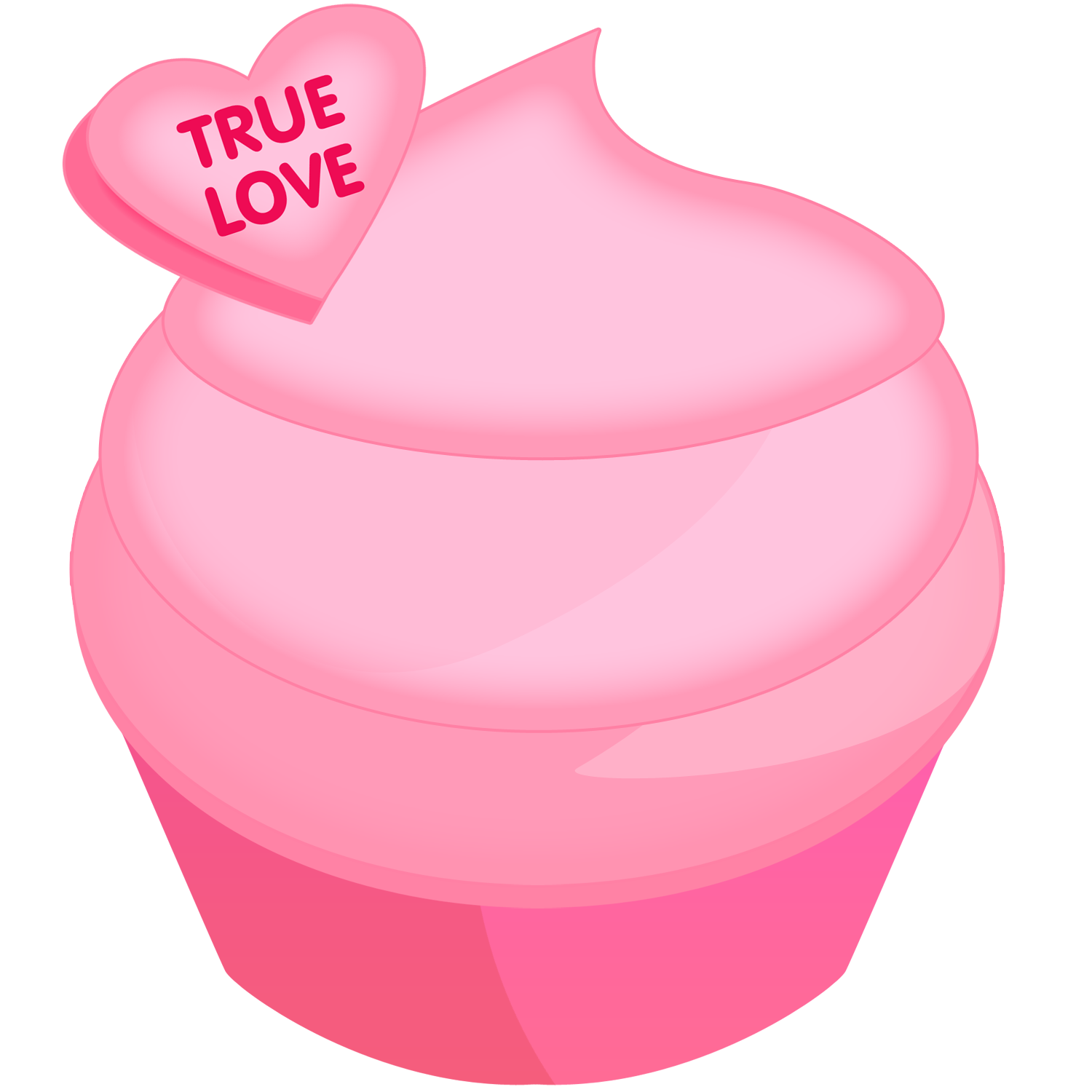 Cupcake Clipart Png Pink-cupcake-clipart.png