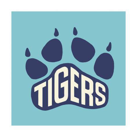 Tigers Paw Print Prints by Pop Ink - CSA Images at AllPosters.
