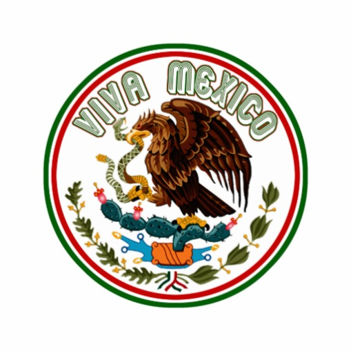 Viva Mexico (Eagle from Mexican Flag) Invitation from Zazzle.