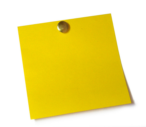 Blank Sticky Note Blank Sticky Note Frees That