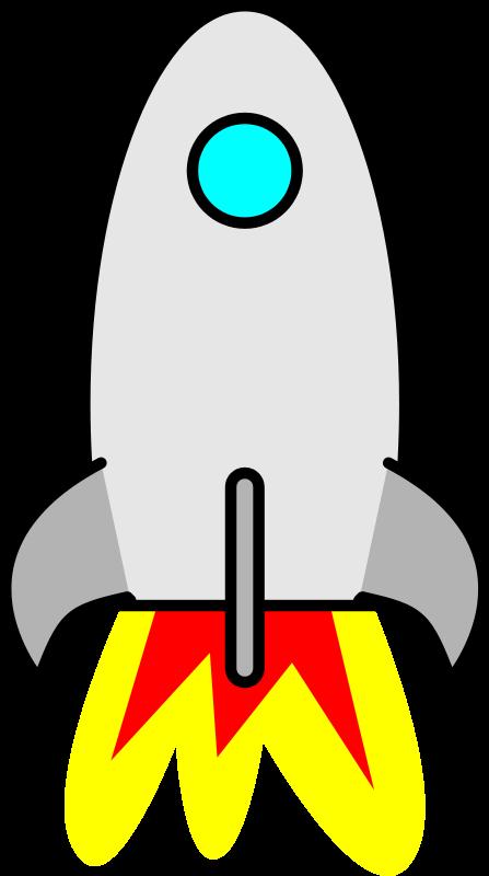 Rocket Ship Clip Art Free