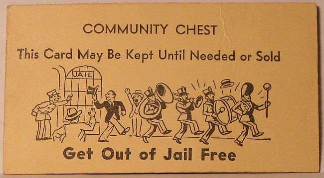 Get out of jail free card clip art clipart best for Get out of jail free card template