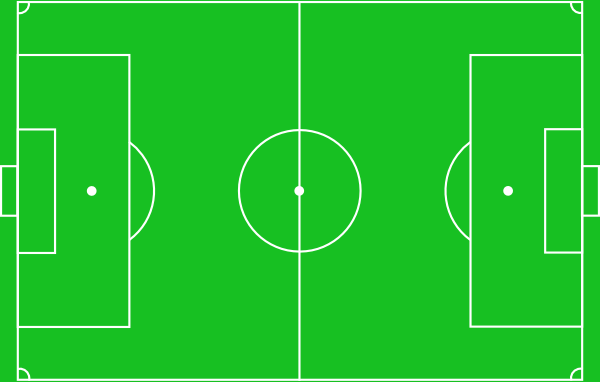 diagram of football pitch   clipart best    football pitch clip art at clker com   vector clip art online     printable soccer field diagram
