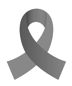 Brain Cancer Ribbon Clipart Best
