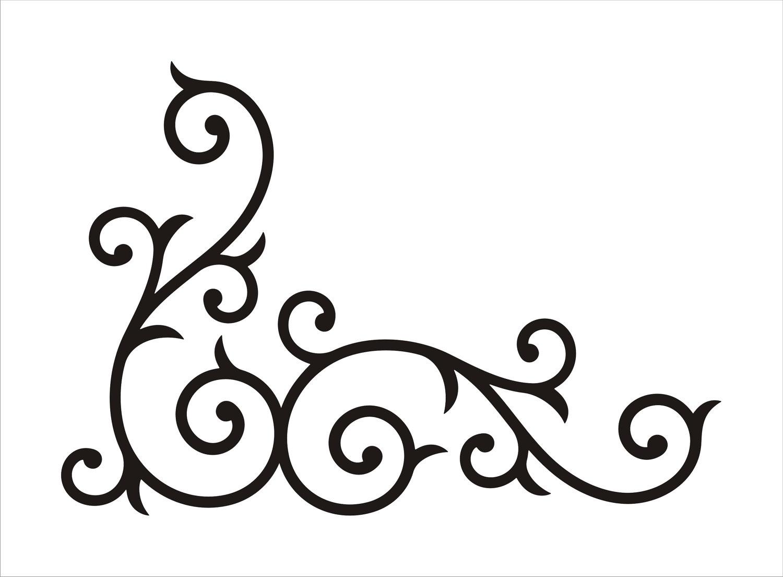 Fancy Corner Designs - ClipArt Best
