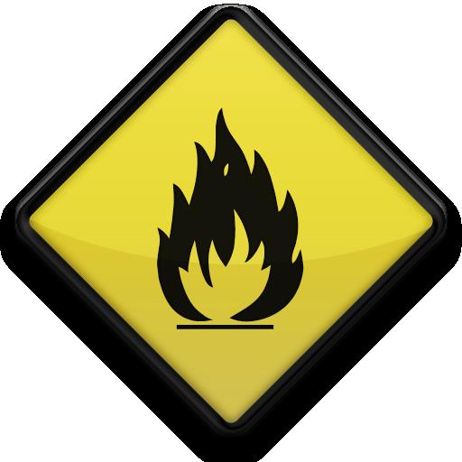 fire hazard sign clipart best