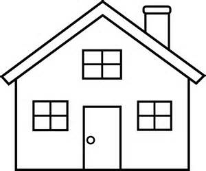 House black white clipart best Black and white homes