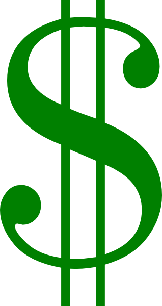 Green Dollar Sign Clipart - Free Clipart Images