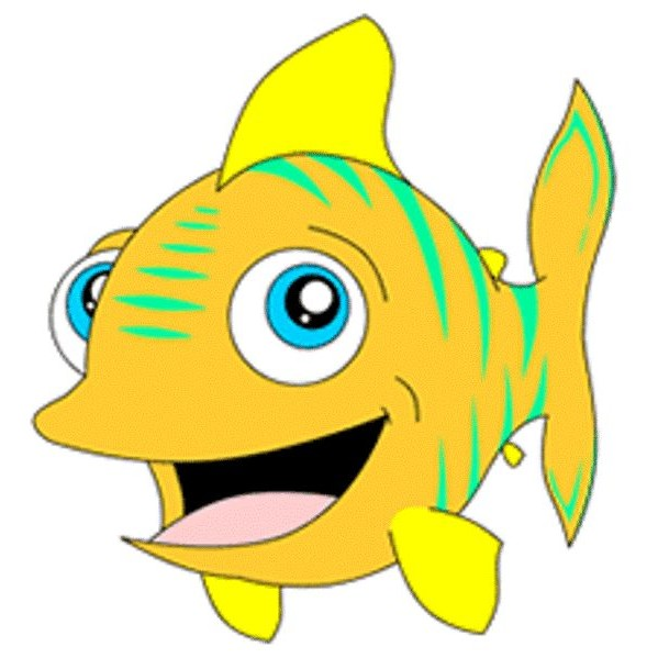 Cartoon fish pictures for kids clipart best for Best fish for kids