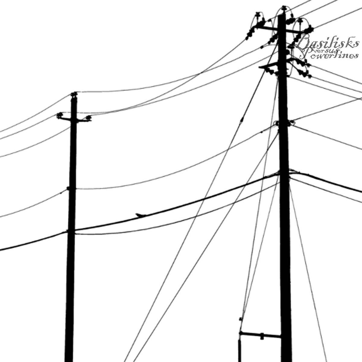 Minecraft Wall Mural Power Lines Drawing Clipart Best