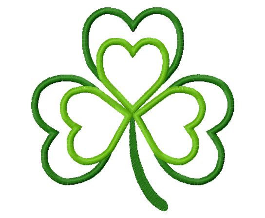 Shamrock Applique Design Free