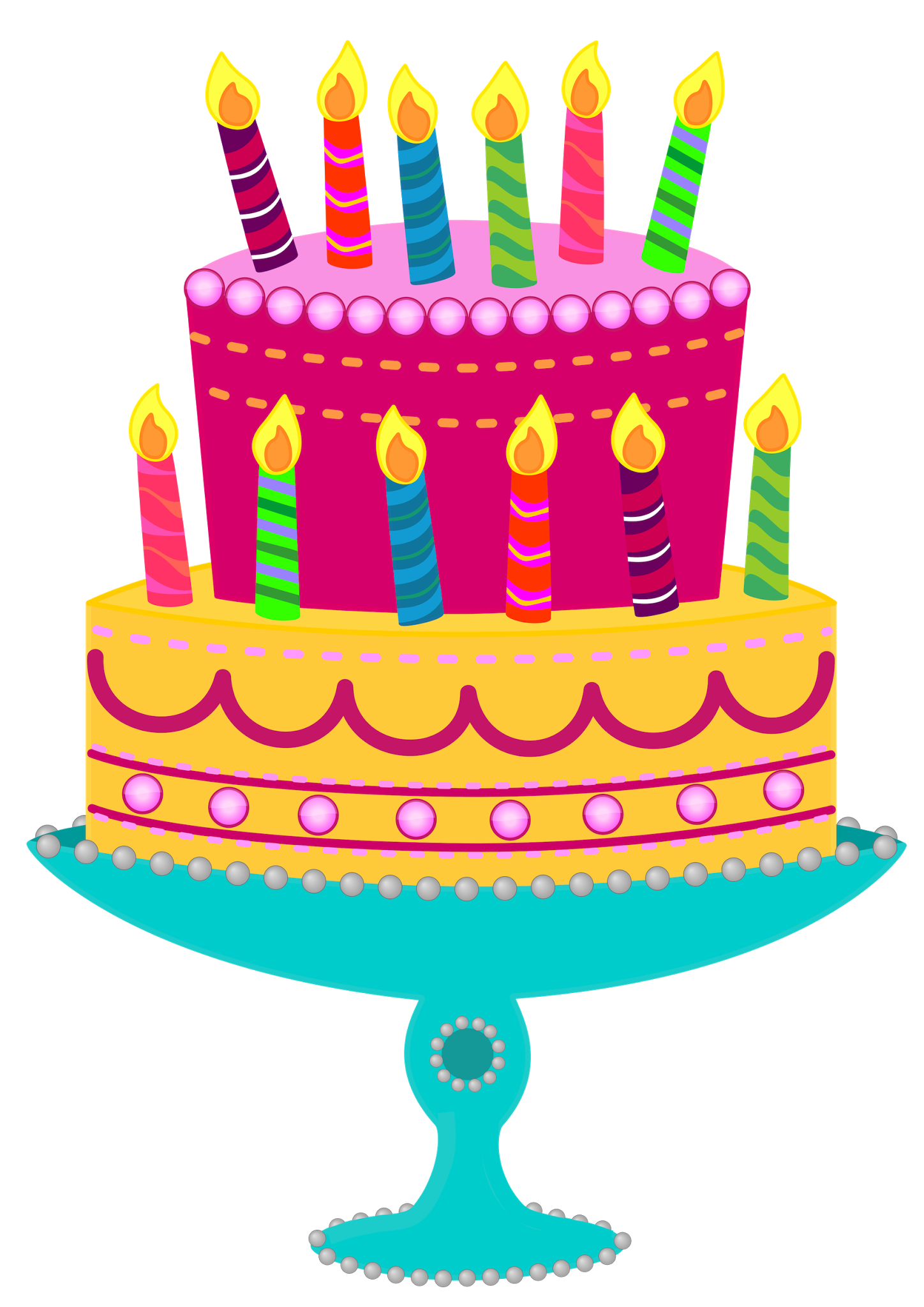Cake Designs Clip Art : Birthday Cake Cliparts - ClipArt Best