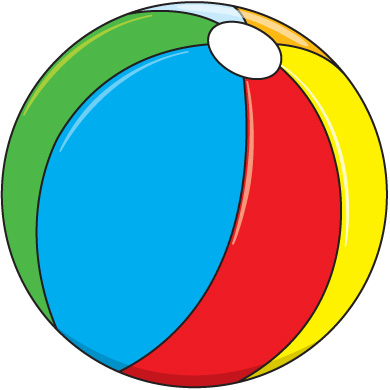 Clipart Beach Ball - ClipArt Best