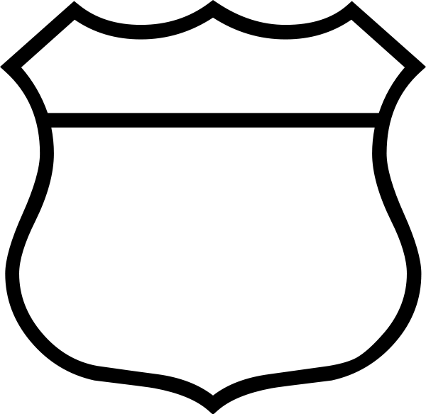 Empty Crest Shield - ClipArt Best