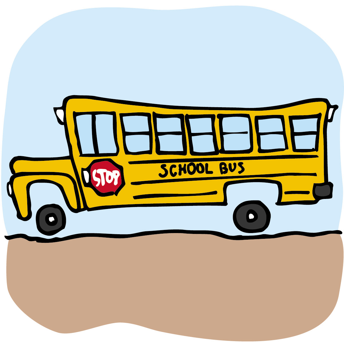 clipart school bus field trip - photo #3