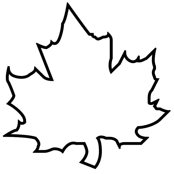 maple leaf template free printable clipart best With autumn leaf template free printables
