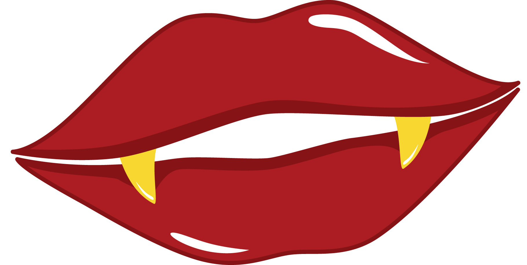 Picture Of Big Red Lips - ClipArt Best