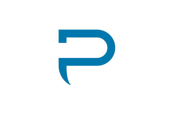 Letter P Logo For Sale