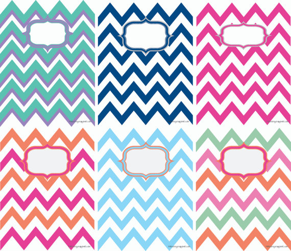 Gallery For gt Chevron Binder Cover Templates