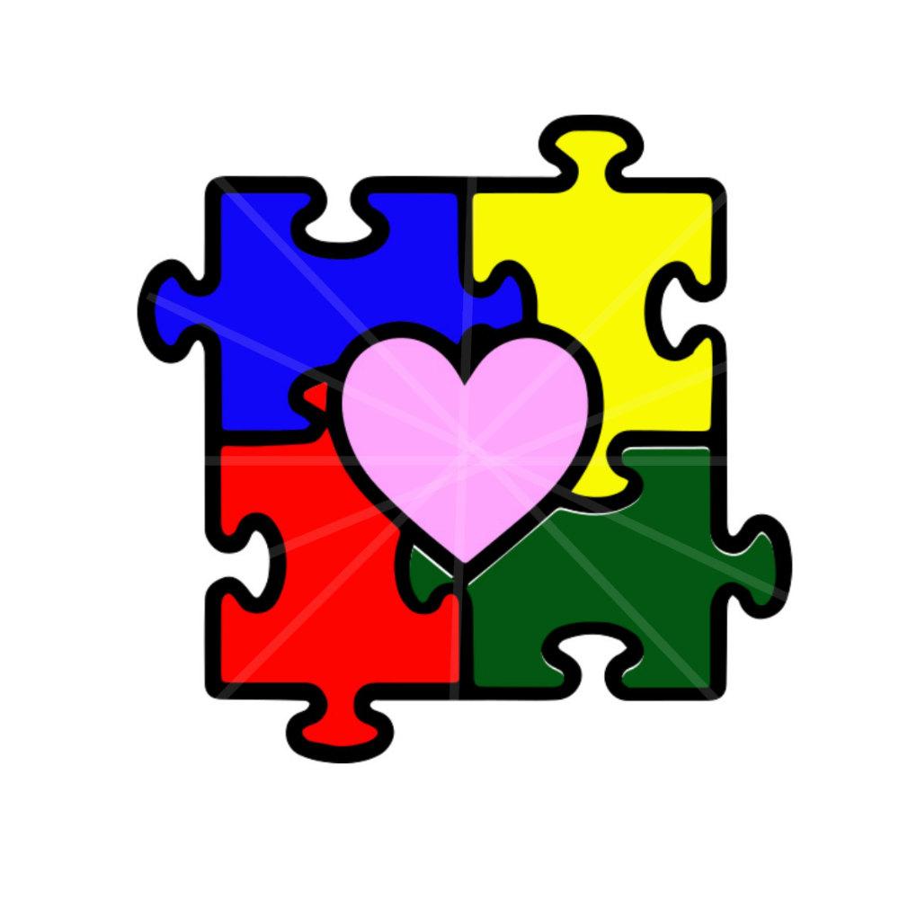 puzzle pieces autism clipart best