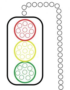 Adorable image with regard to traffic light printable
