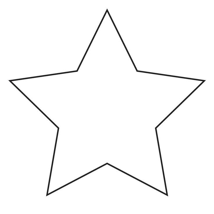 Christmas Star Clip Art Black And White - ClipArt Best
